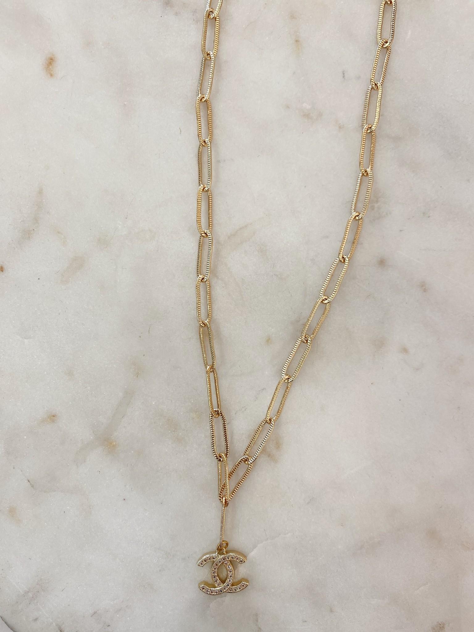 SAJ CC Chain Necklace