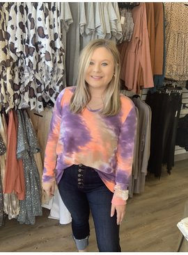 BB Dreamy Tie Dye Top 1185