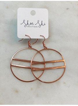 SAJ Hoop Design Earrings
