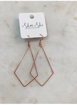 SAJ Diamond Shape Earrings