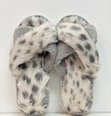 WB Faux Fur Slippers 0012