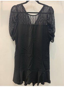 Shoe Shi Sheer Sleeve w/ Glitter Dress 95800