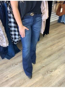 KC Mid Rise Flare Jeans 6102