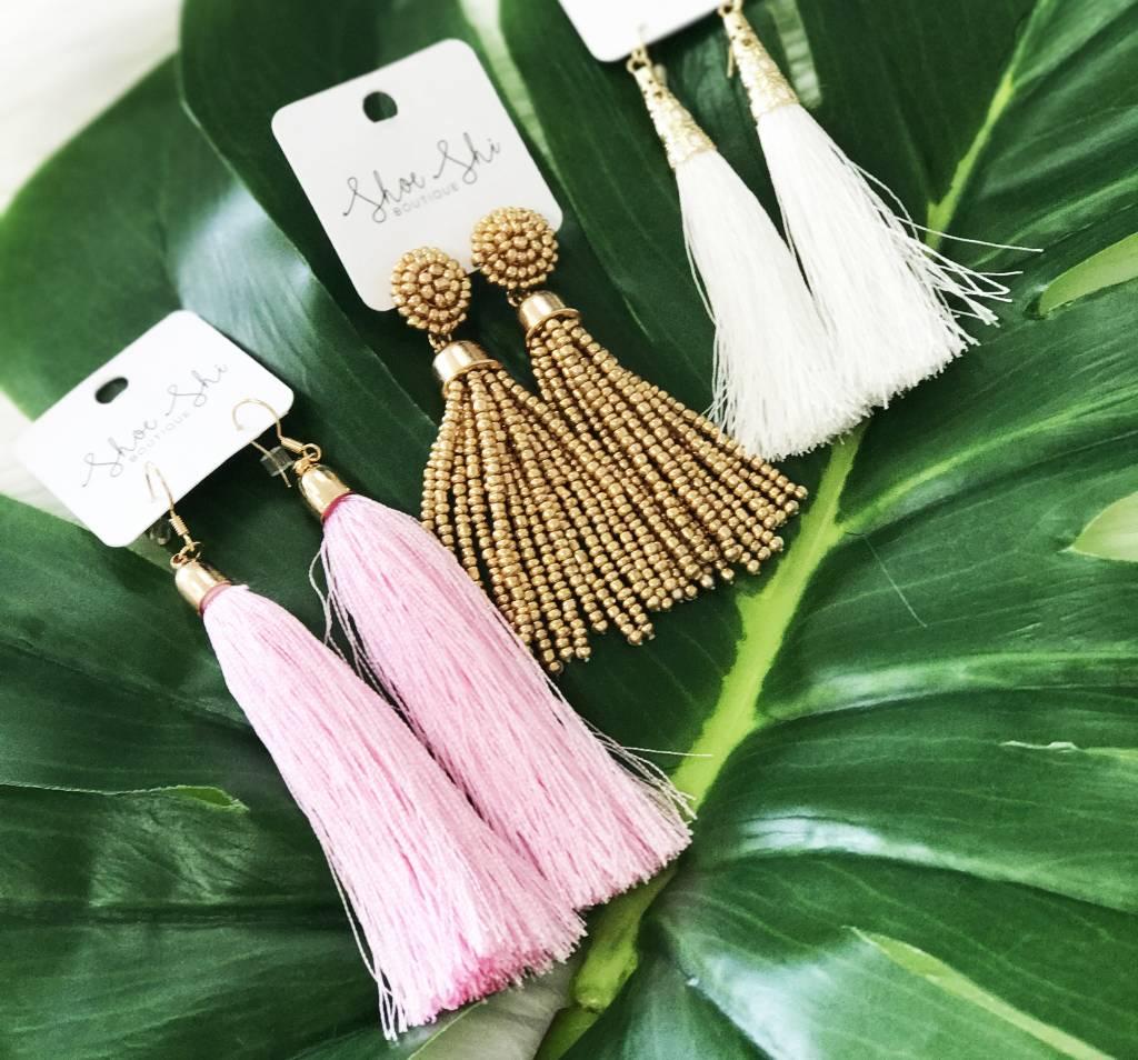 #TREND ALERT | Tassel Earrings