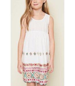 Hayden Los Angeles Floral Embroidered Dress 5042