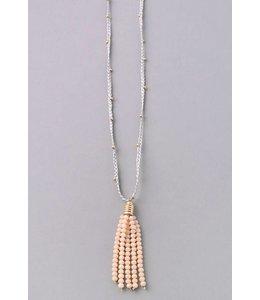 Fame Tassel String Necklace 6282