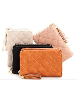 Quilted Mini Wallet 1027