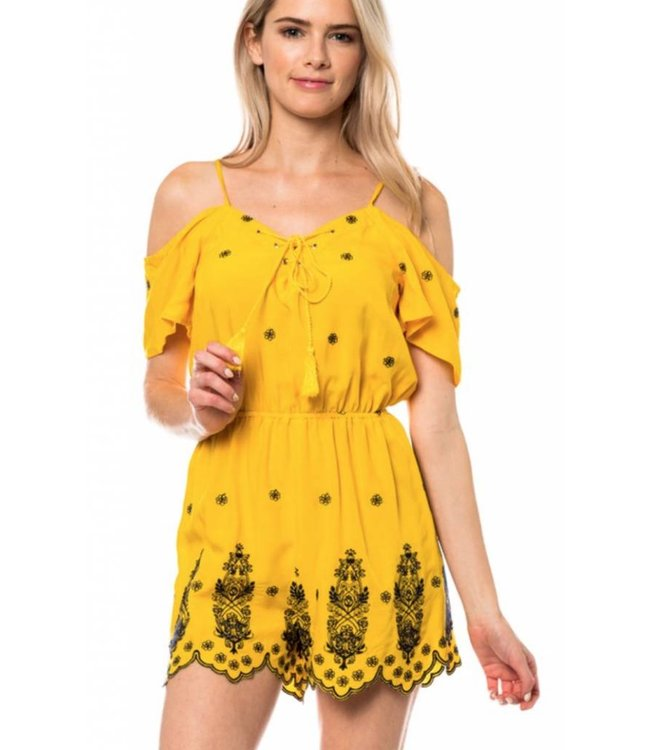 Embroidered Romper 3223