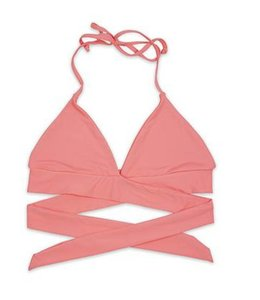 Triangle Wrap Swim Top 1766