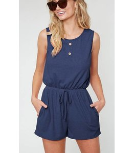 FF Pocket Button Romper 1076
