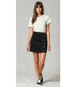 BT Button Down Highwaisted Skirt 2328