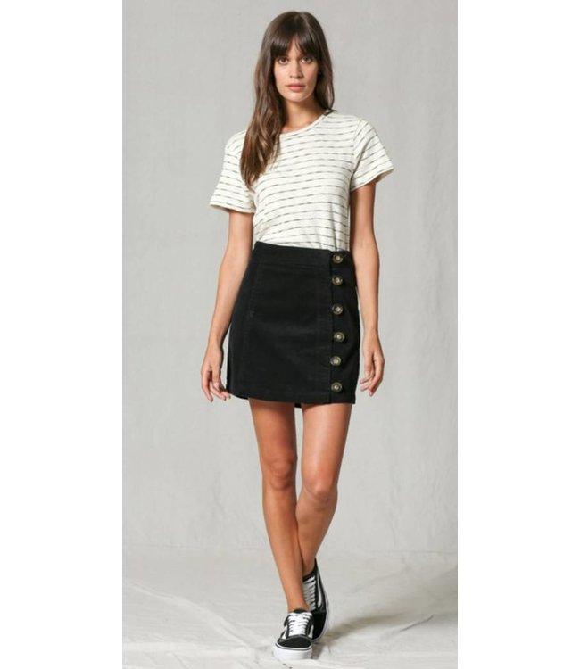 BT Button Down Highwaisted Skirt 2328