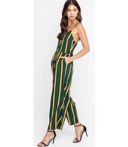LSH Striped Midi Jumpsuit 21142