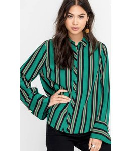 LSH Stripe Wide Sleeve Top14259