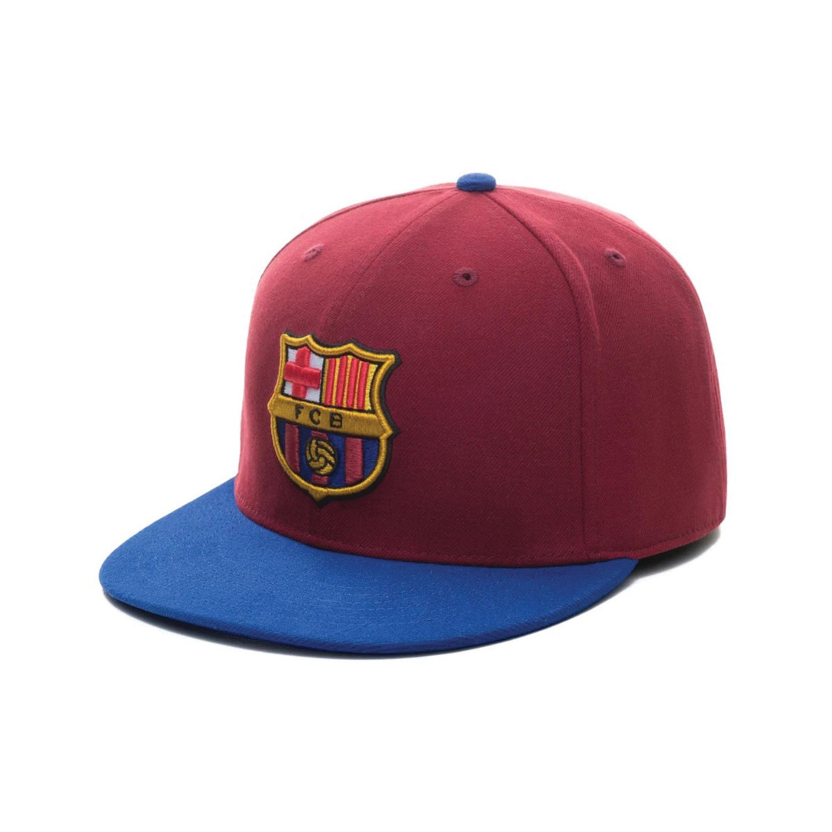 FAN INK FC BARCELONA TEAM SNAPBACK HAT