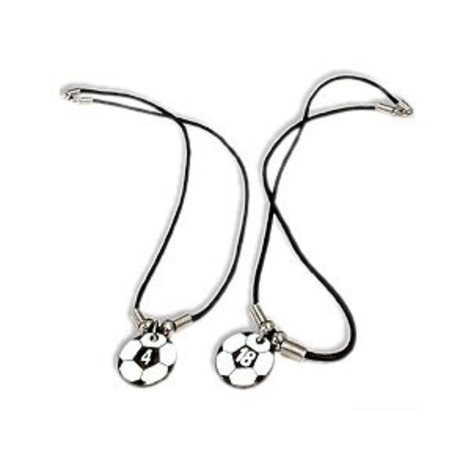 SOCCER BALL NUMBER NECKLACE