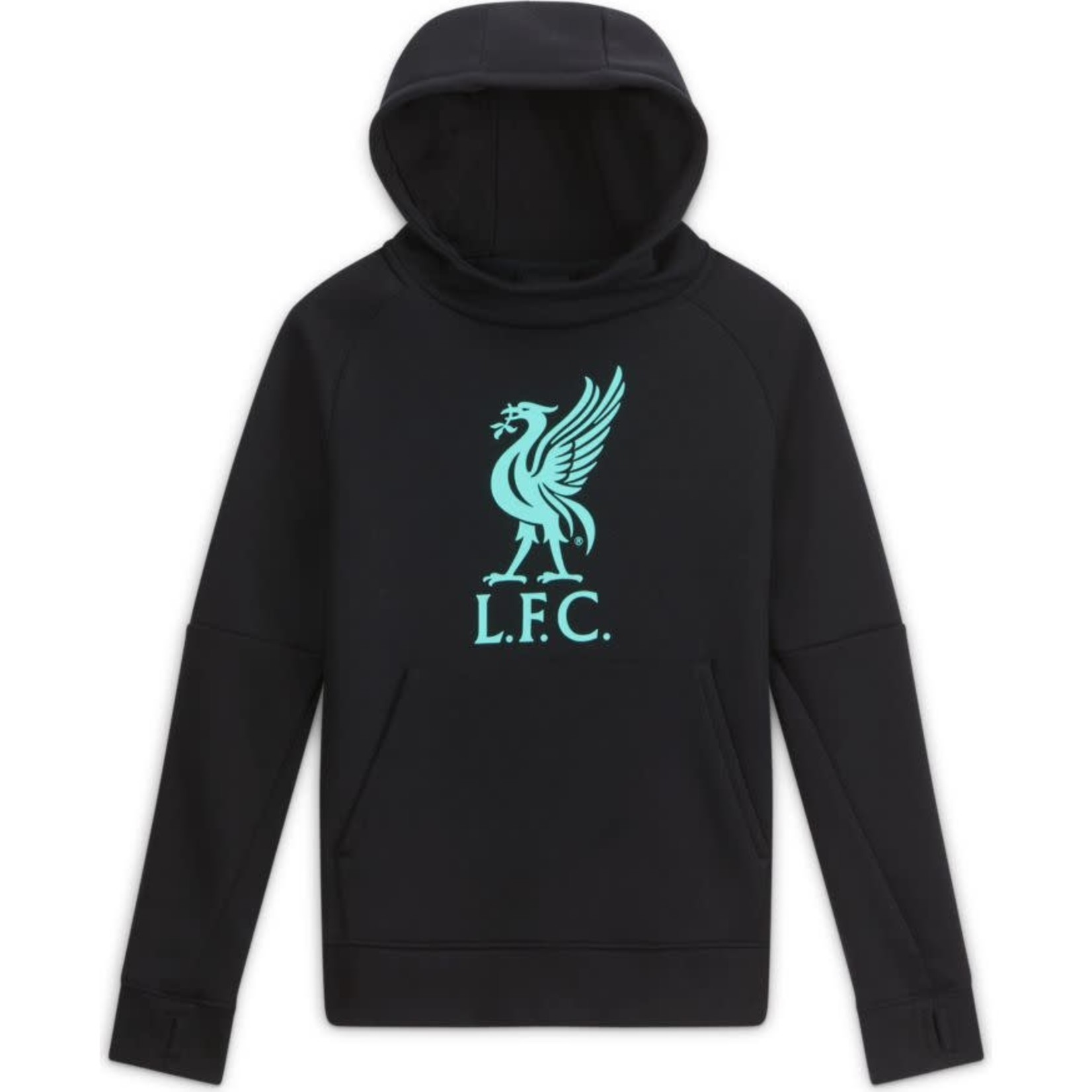 NIKE LIVERPOOL 20/21 CLUB PULLOVER HOODIE YOUTH