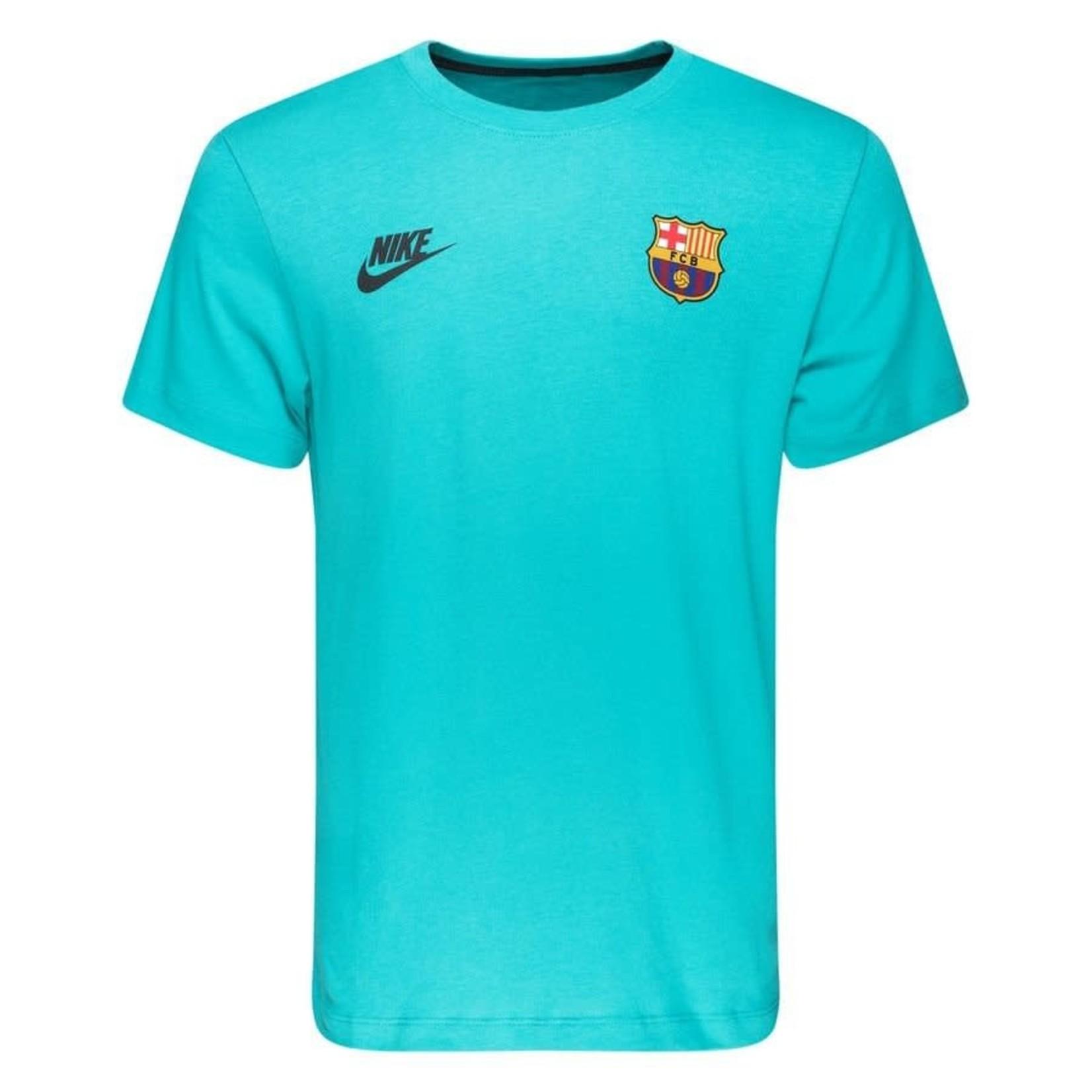 NIKE FC BARCELONA 19/20 KIT INSPIRED CL TEE