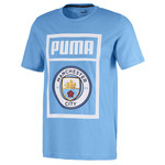 PUMA MANCHESTER CITY 19/20 SHOE TAG TEE