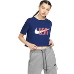 NIKE USA SQUAD CROP TOP WOMEN