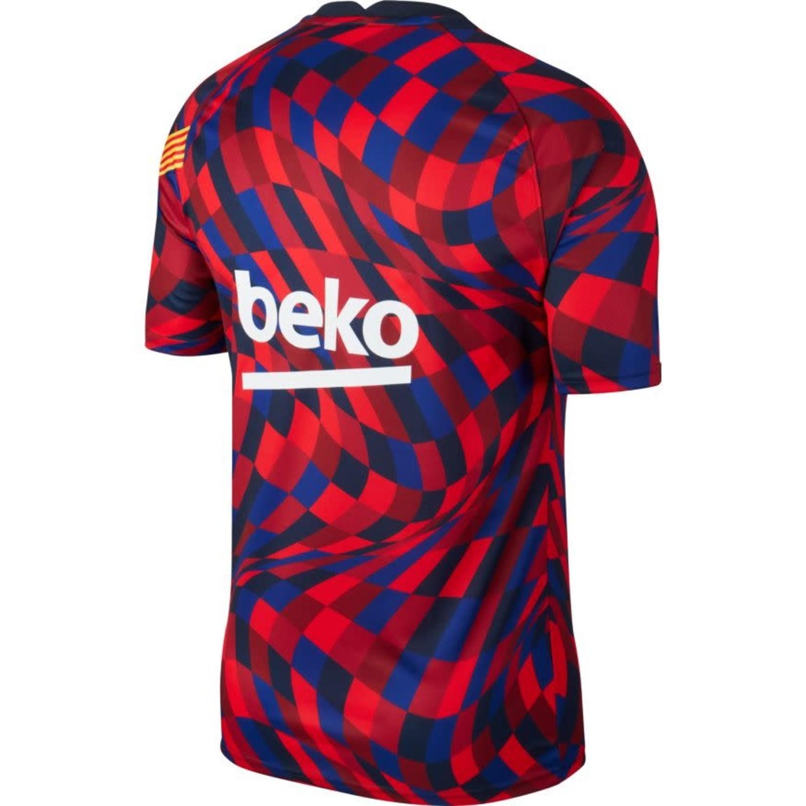 NIKE FC BARCELONA 20/21 PREMATCH JERSEY