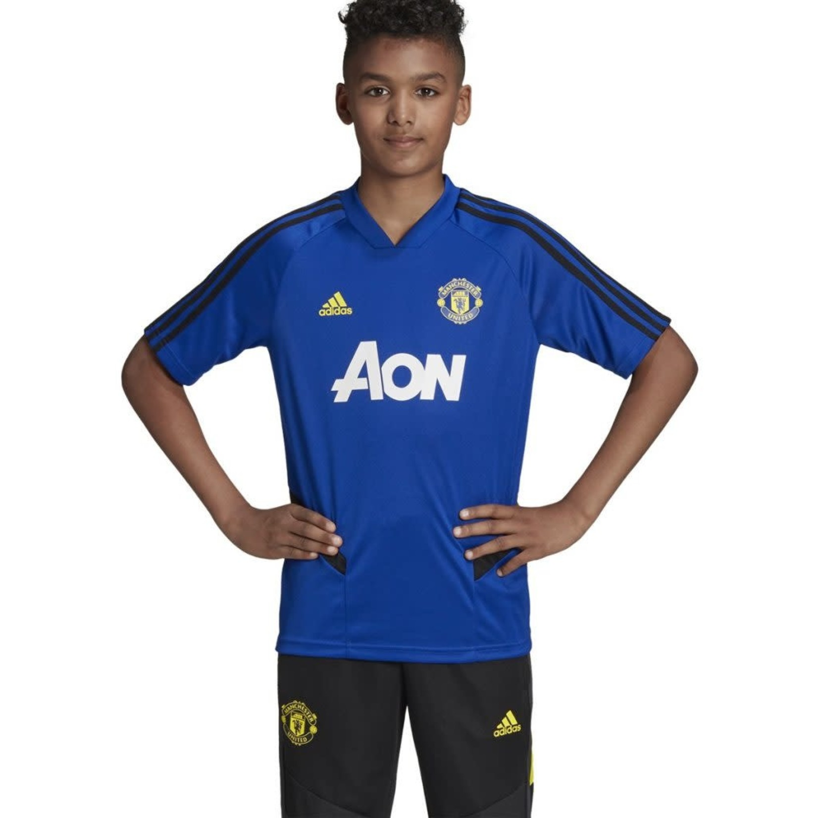 ADIDAS MANCHESTER UNITED 19/20 TRAINING JERSEY YOUTH
