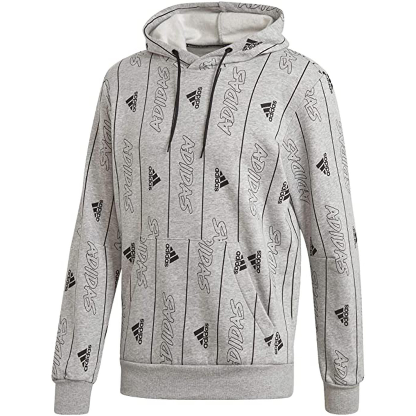 ADIDAS MUST HAVES GRAPHIC PULLOVER HOODIE