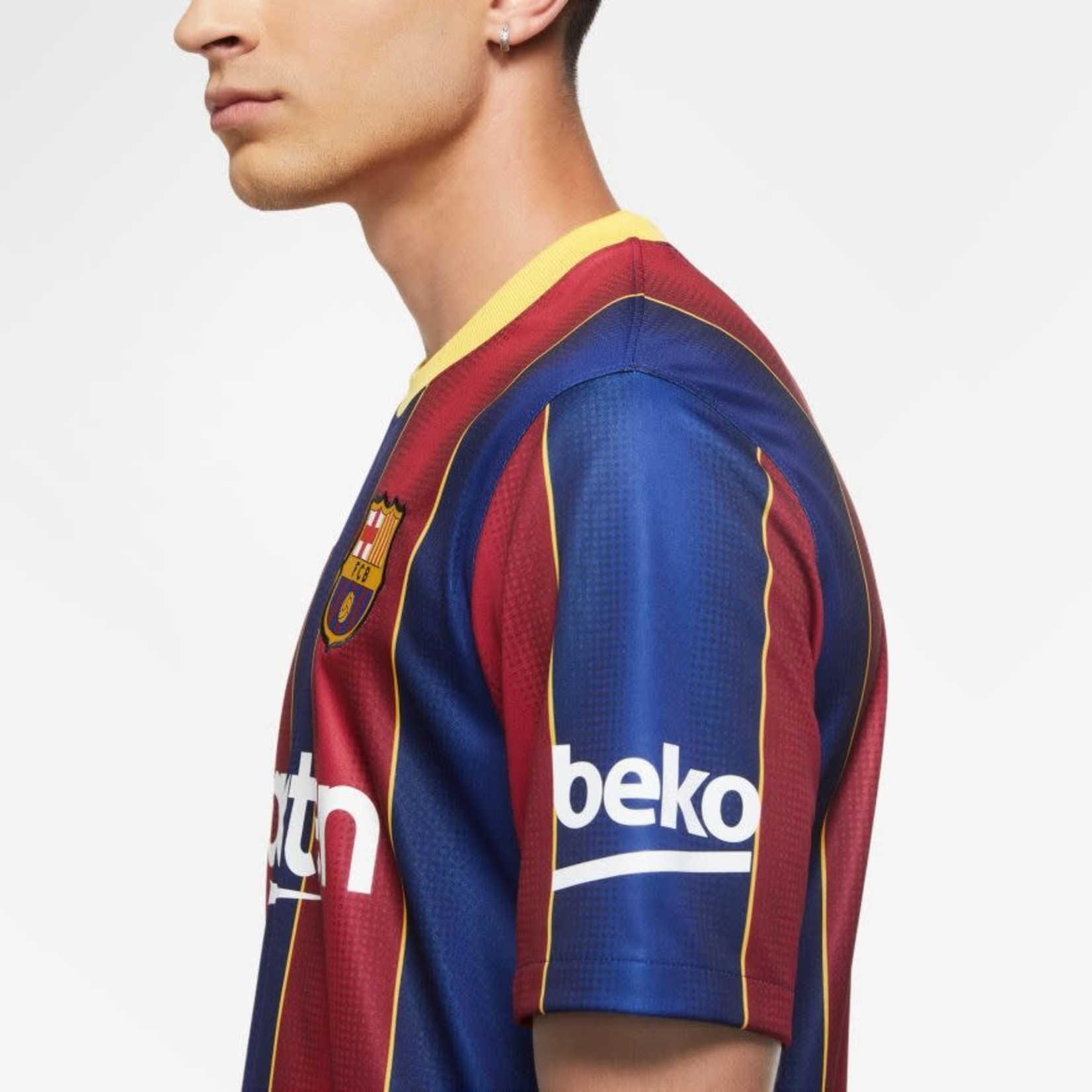 NIKE FC BARCELONA 20/21 HOME JERSEY (BLUE/RED)