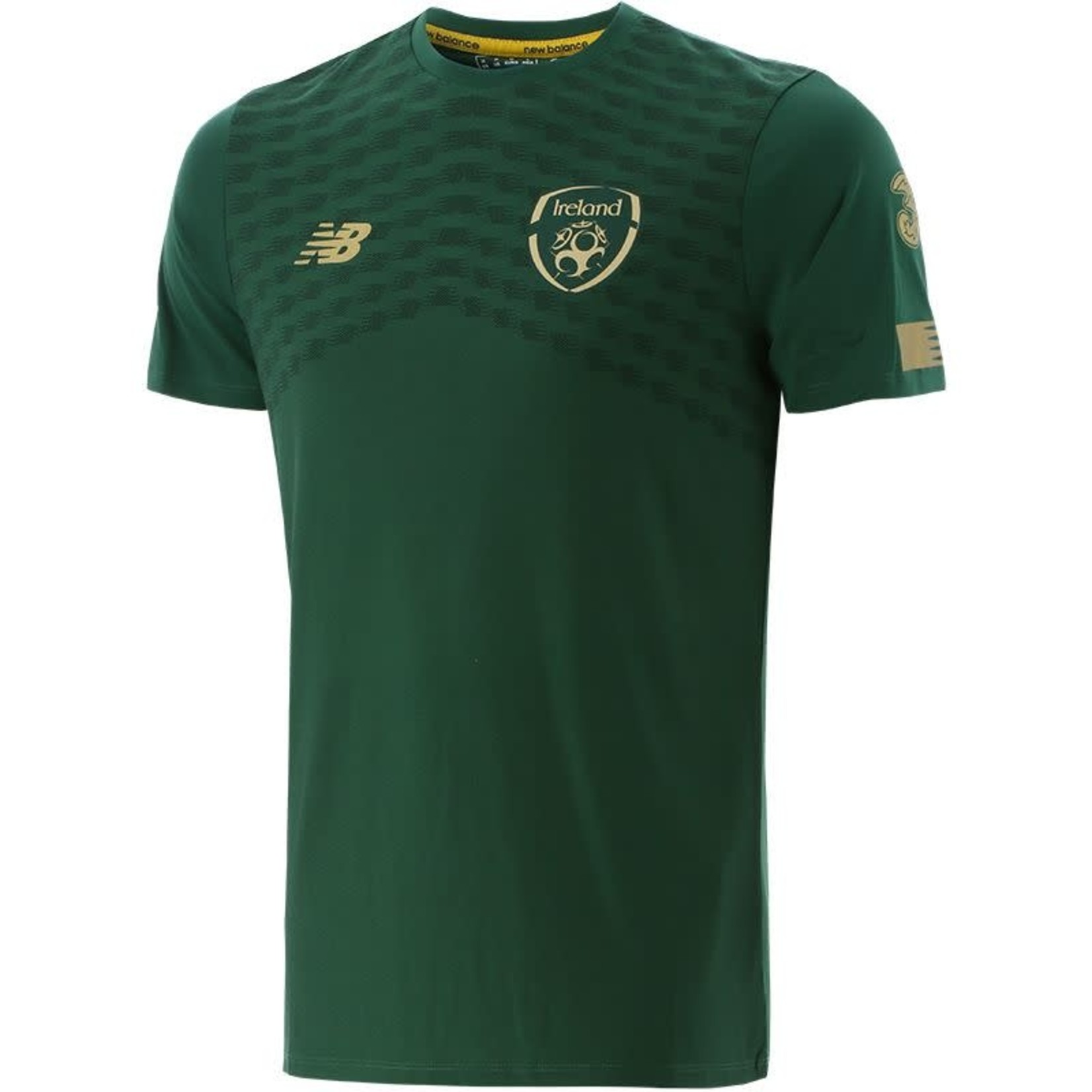 NEW BALANCE IRELAND 2019 PRE-GAME JERSEY (GREEN)