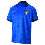 PUMA ITALY 2020 HOME JERSEY YOUTH (BLUE)