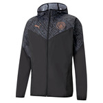 PUMA MANCHESTER CITY 20/21 WARMUP JACKET (BLACK)