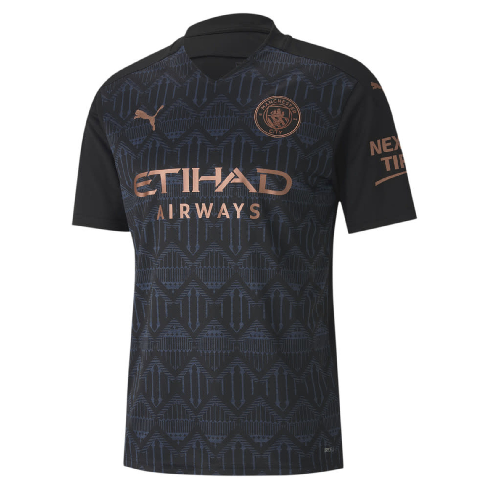 PUMA MANCHESTER CITY 20/21 AWAY JERSEY (BLACK/ROSE)