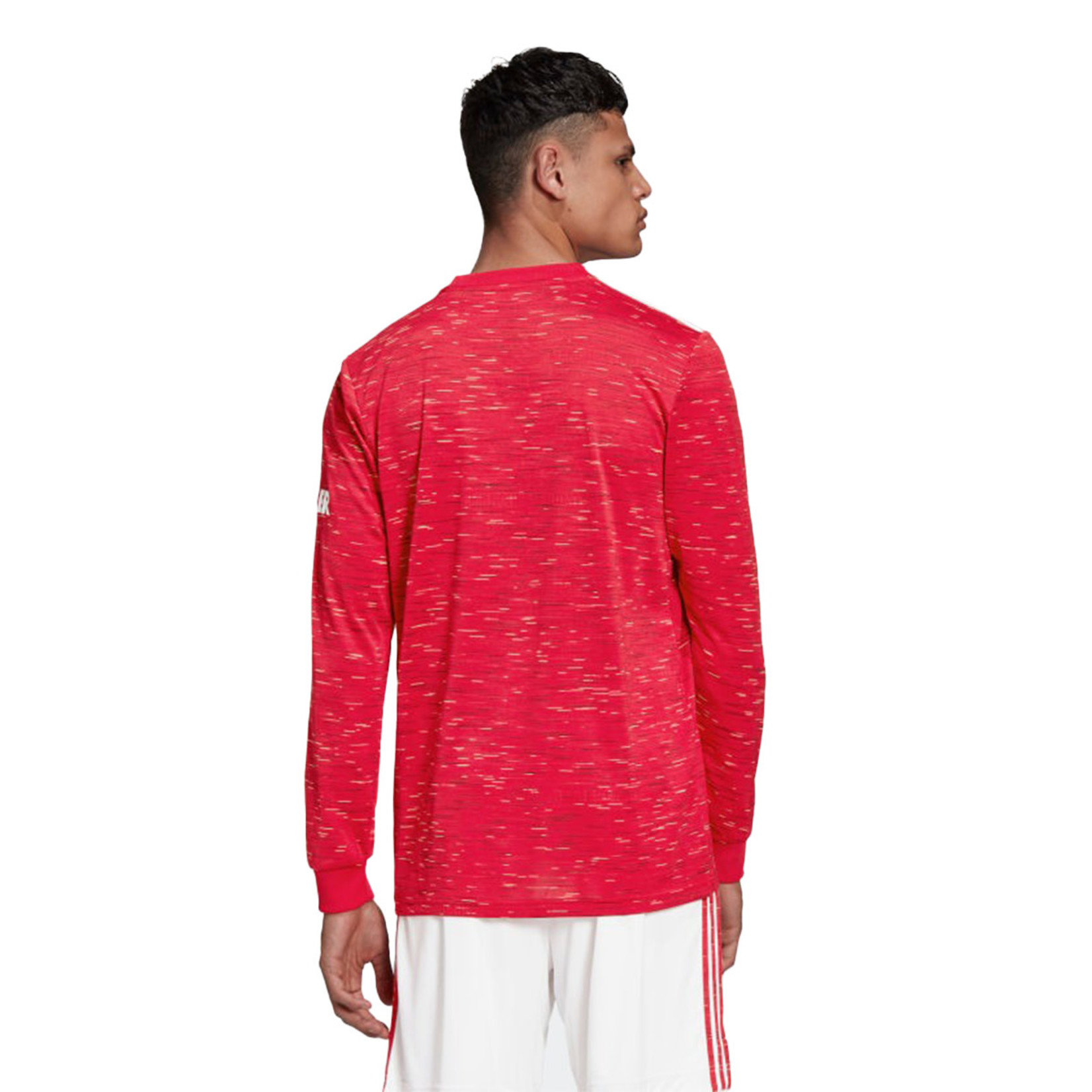 ADIDAS MANCHESTER UNITED 20/21 HOME JERSEY LS (RED)