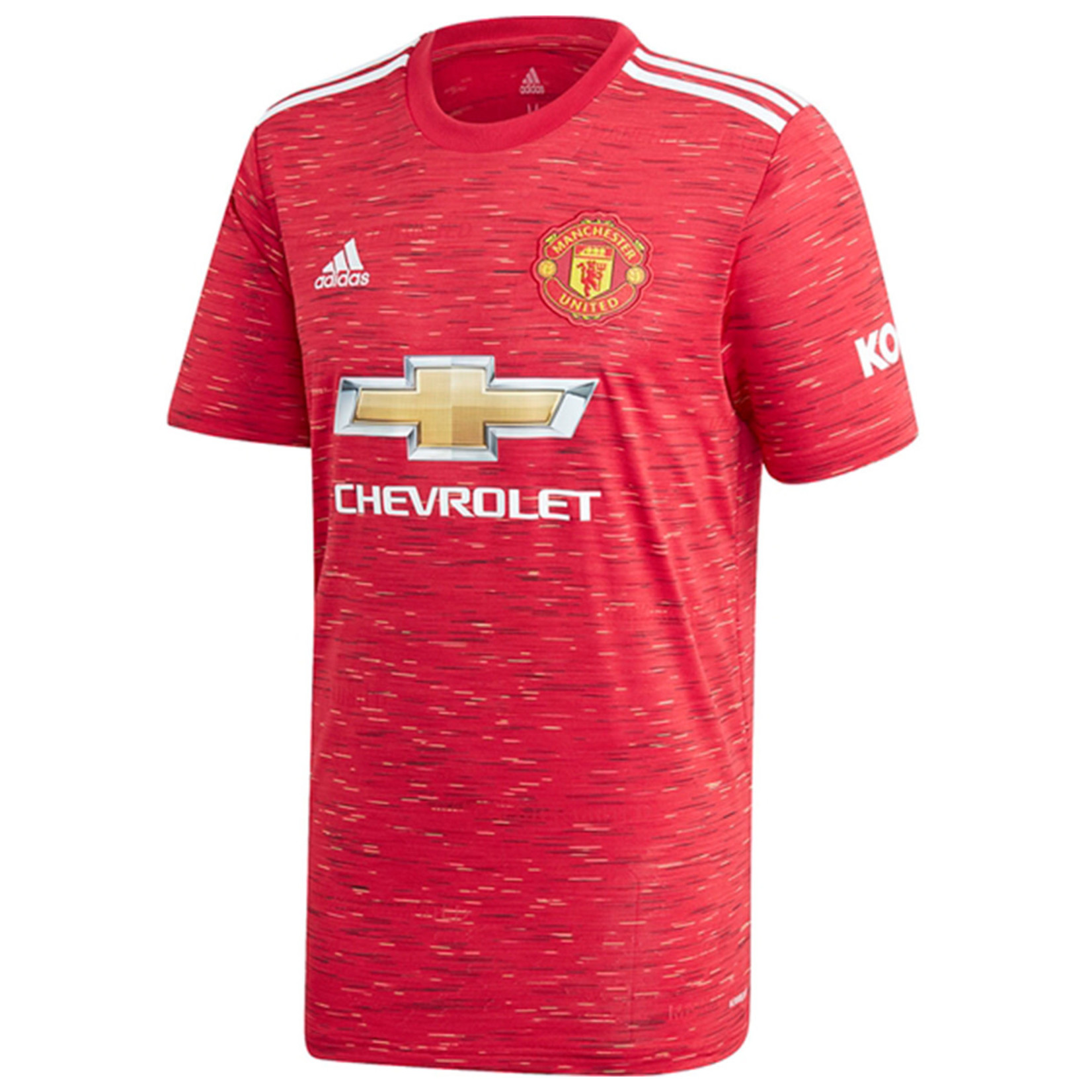 ADIDAS MANCHESTER UNITED 20/21 HOME JERSEY YOUTH (RED)