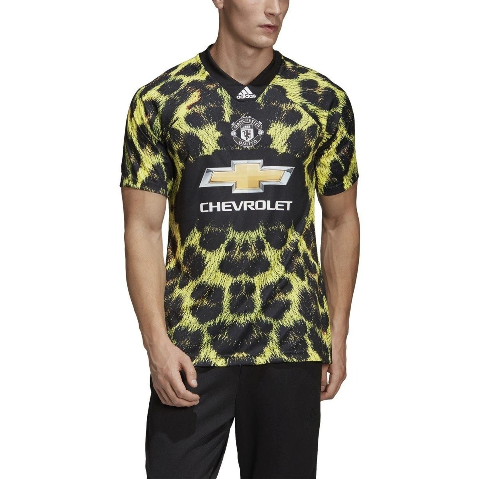 ADIDAS MANCHESTER UNITED EA SPORTS JERSEY (BLACK/YELLOW)