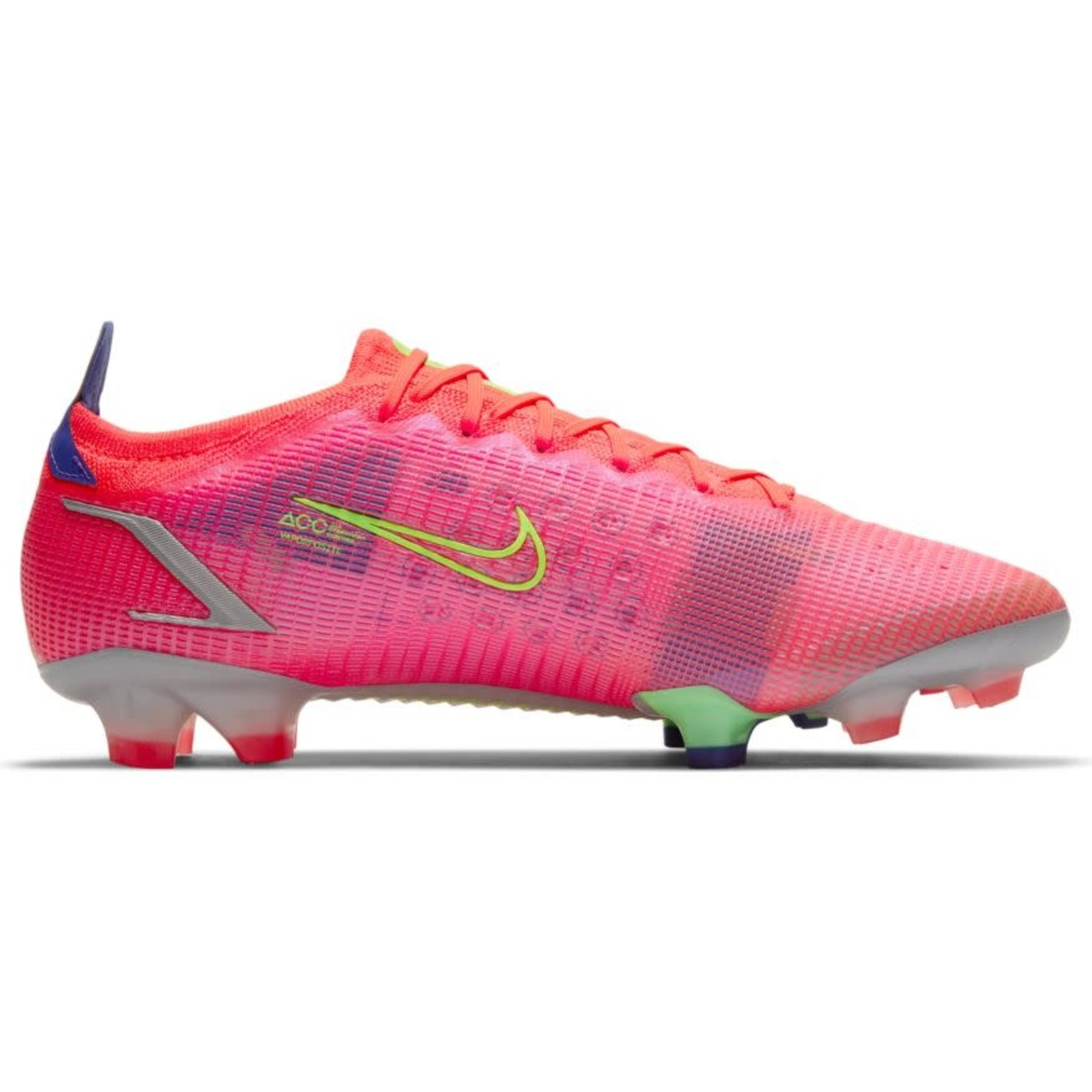 NIKE MERCURIAL VAPOR 14 ELITE FG (CRIMSON/LIME)
