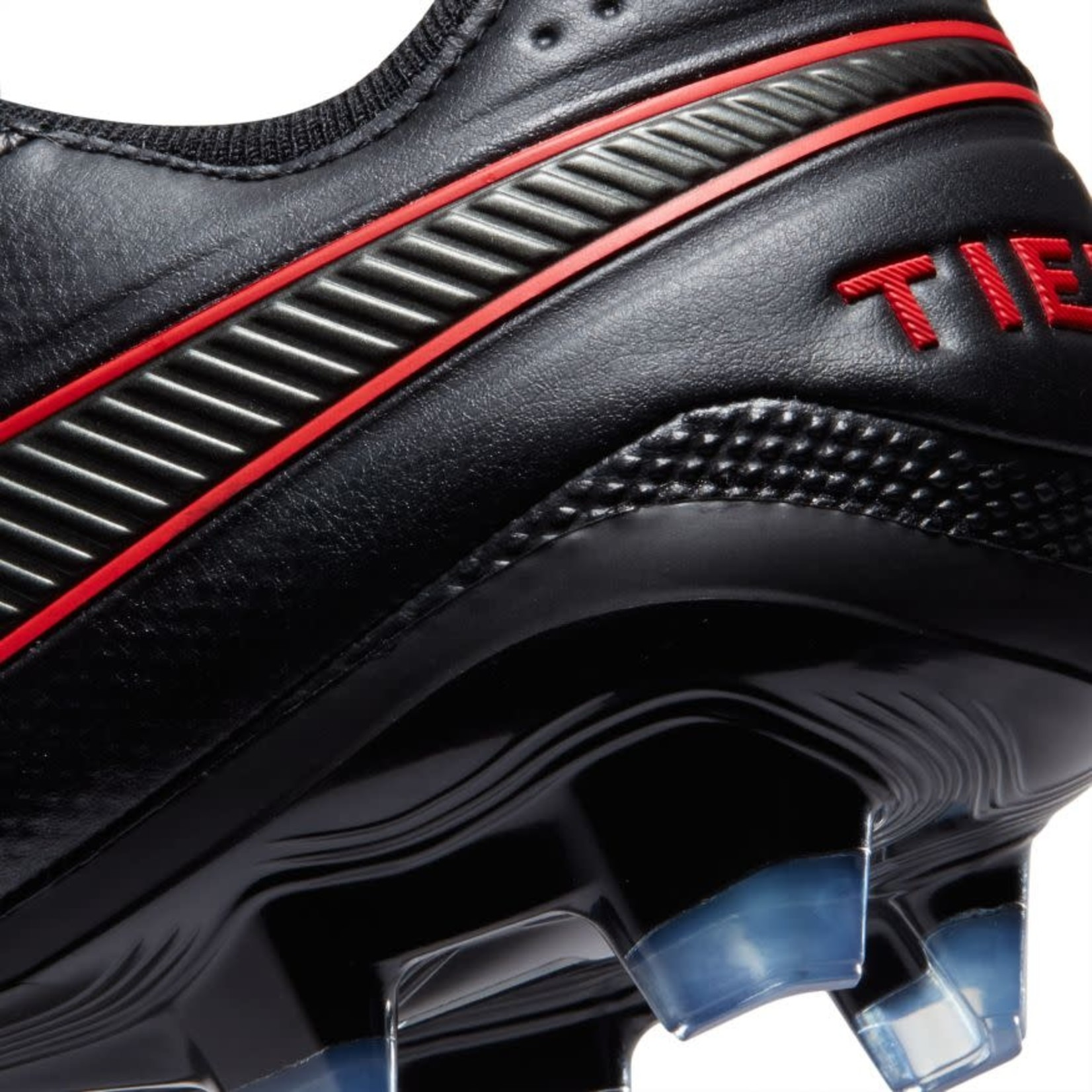 NIKE TIEMPO LEGEND 8 ELITE FG (BLACK/RED)
