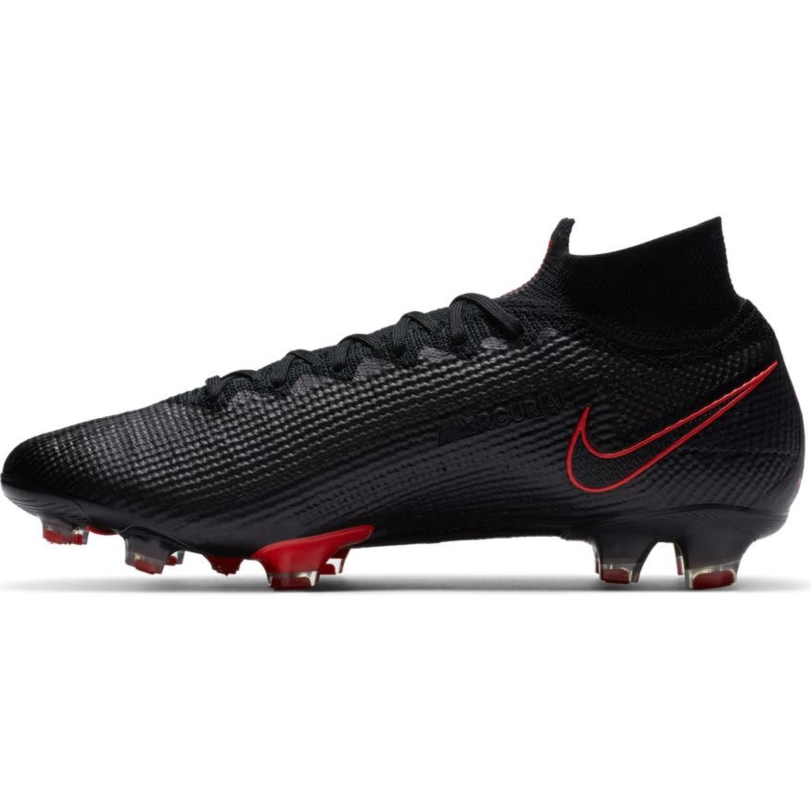 NIKE MERCURIAL SUPERFLY 7 ELITE FG (BLACK/RED)