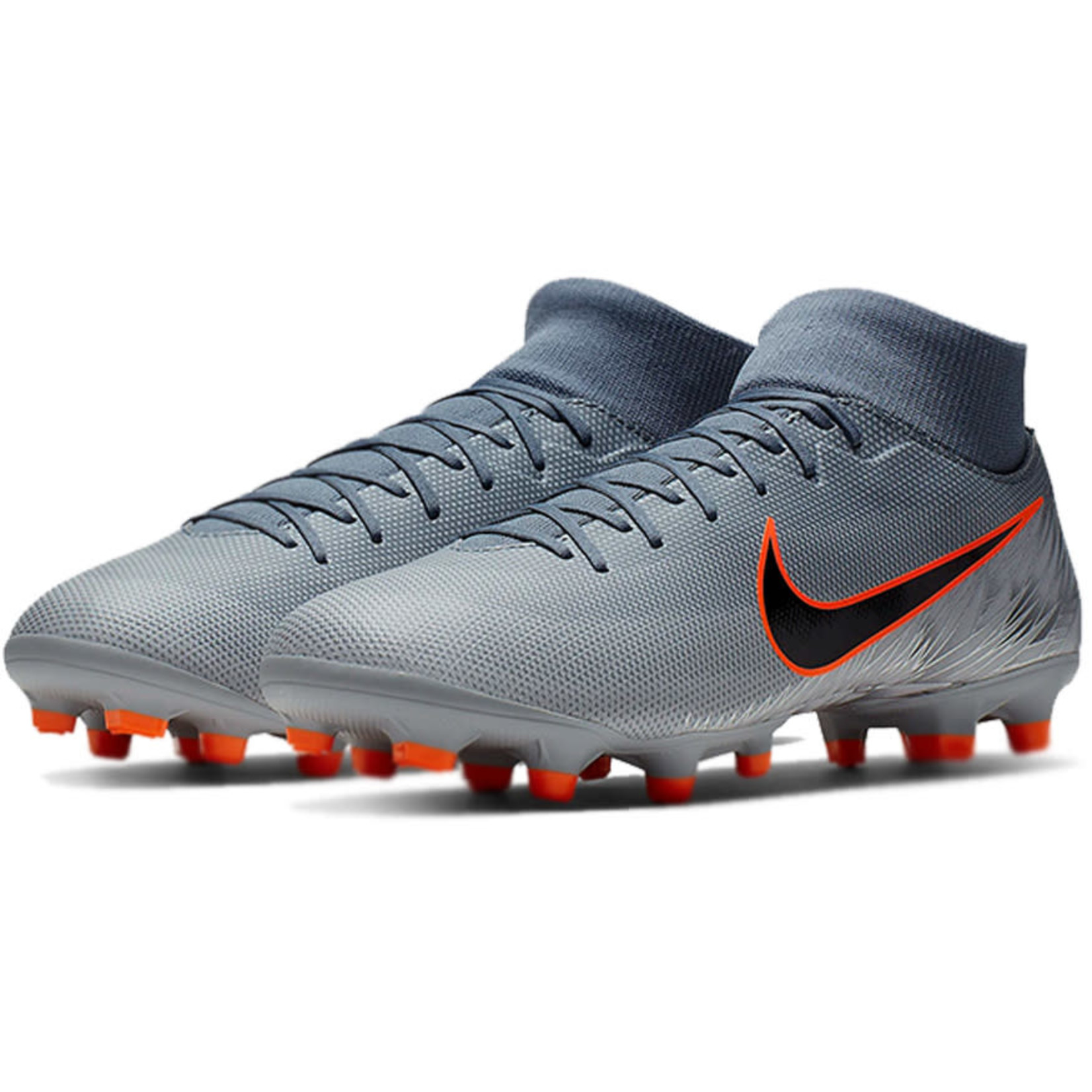 NIKE MERCURIAL SUPERFLY 6 ACADEMY FG/MG (GRAY)