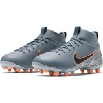 NIKE MERCURIAL SUPERFLY 6 ACADEMY FG/MG JR (GRAY)