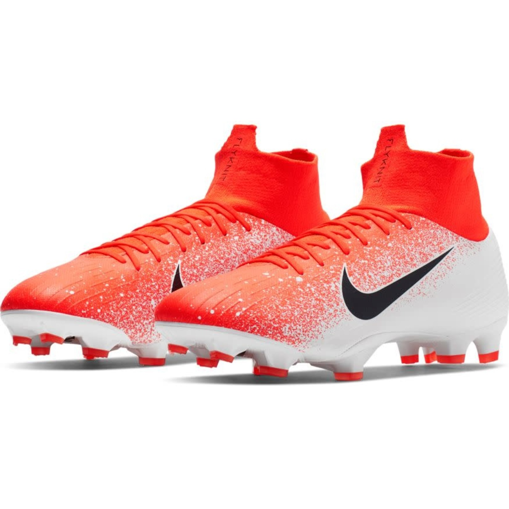 NIKE MERCURIAL SUPERFLY 6 PRO FG (ORANGE/WHITE)