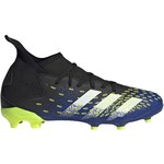 ADIDAS PREDATOR FREAK.3 FG JR (BLACK/BLUE)