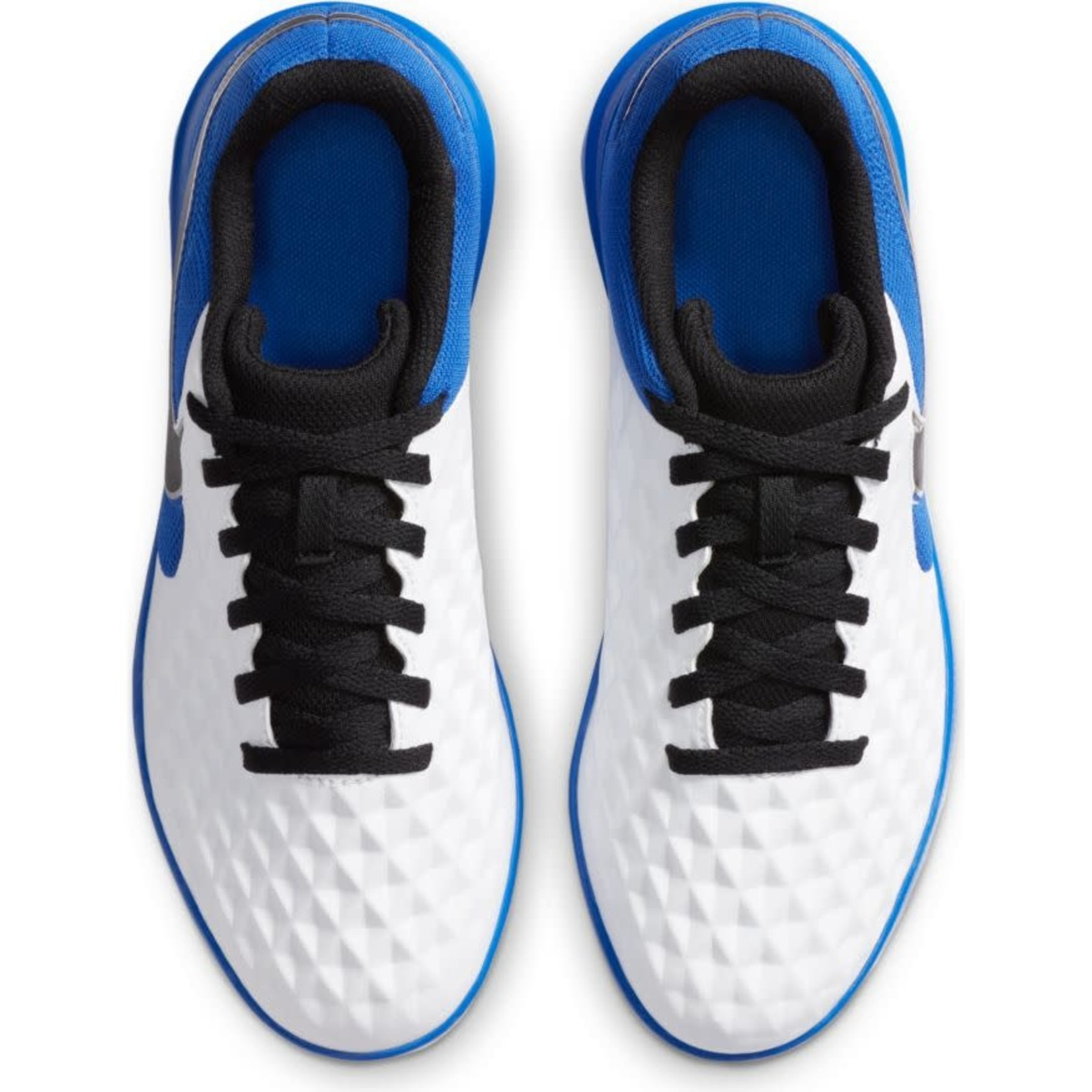 NIKE TIEMPO LEGEND 8 CLUB IC JR (WHITE/BLUE)
