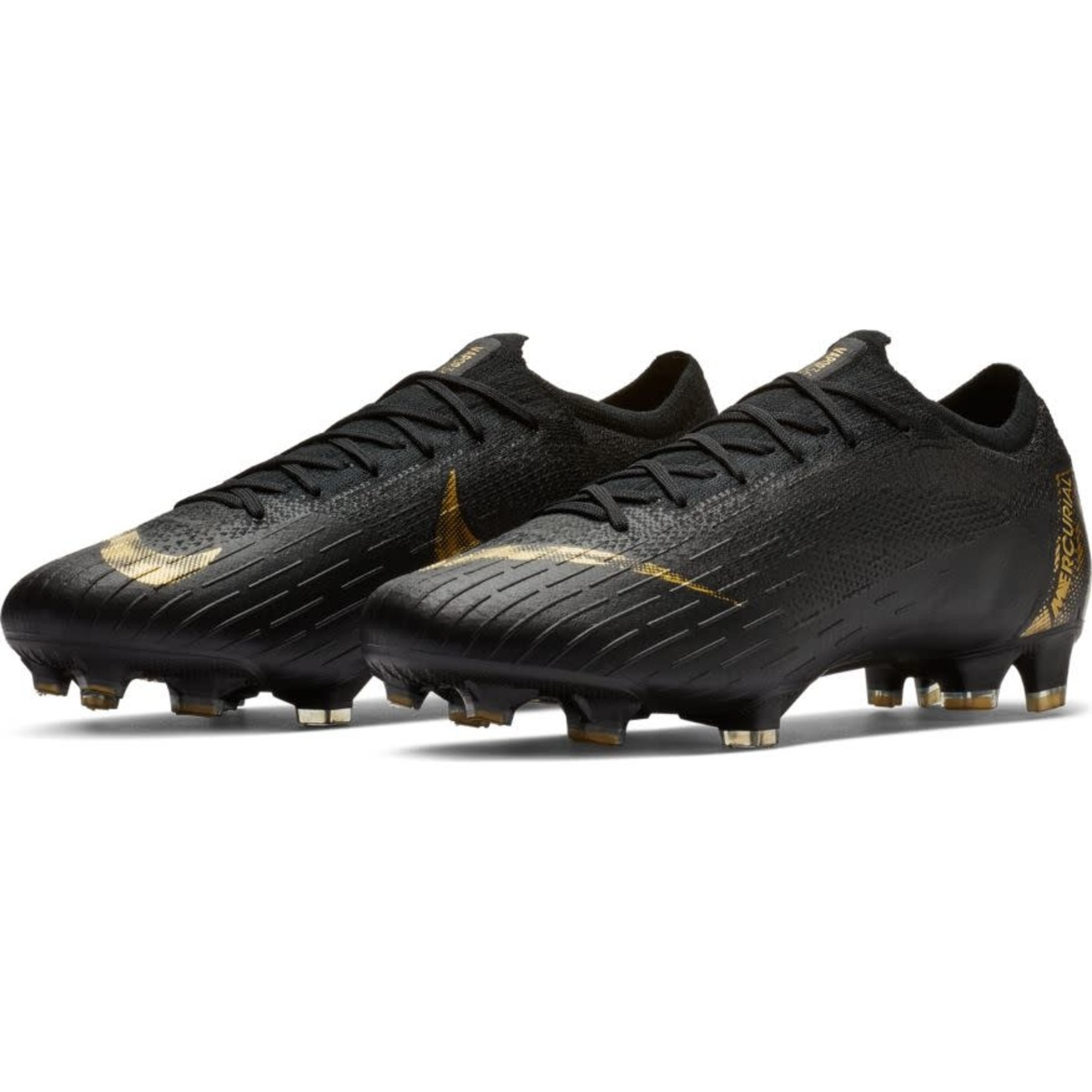 NIKE MERCURIAL VAPOR 12 ELITE FG (BLACK/GOLD)