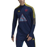 ADIDAS ARSENAL HUMANRACE TRAINING TOP (NAVY/YELLOW)