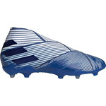 ADIDAS NEMEZIZ 19+ FG JR (WHITE/BLUE)