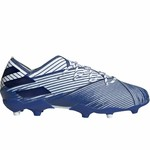 ADIDAS NEMEZIZ 19.1 FG JR (WHITE/BLUE)