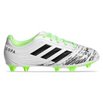 ADIDAS COPA 20.4 FG JR (WHITE/LIME)