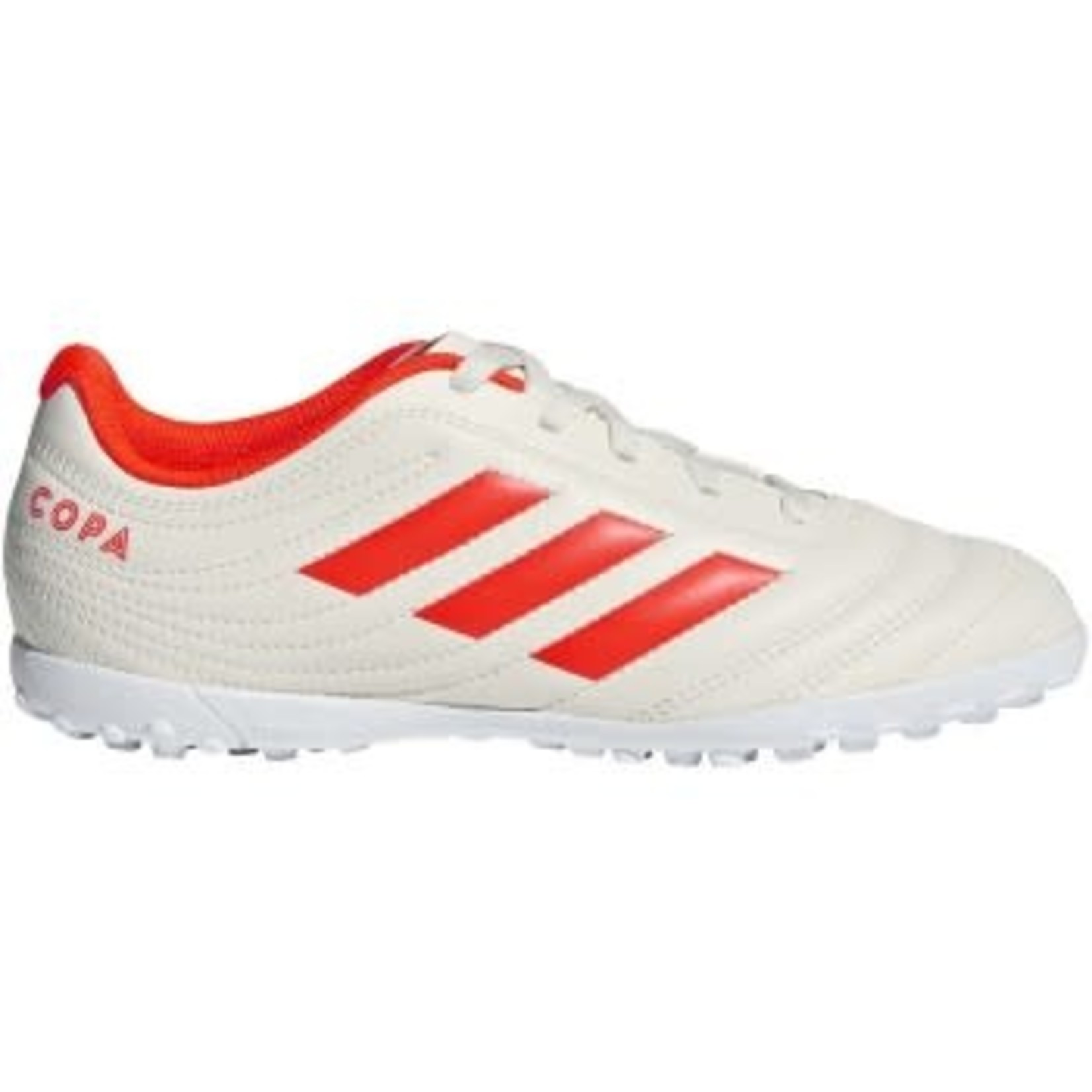 ADIDAS COPA 19.4 TF JR (WHITE/RED)