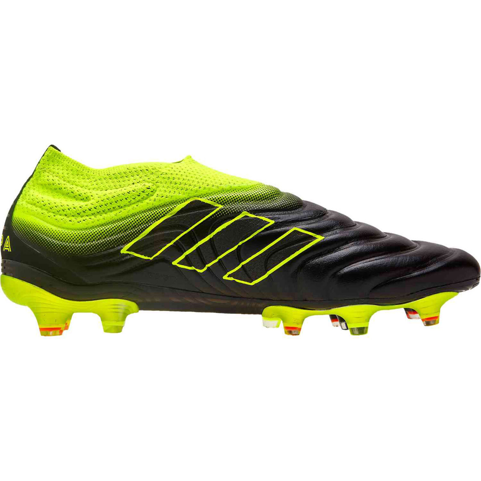 ADIDAS COPA 19+ FG (BLACK/YELLOW)